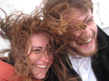 A windy engagement day aboard the Odyssey II.
